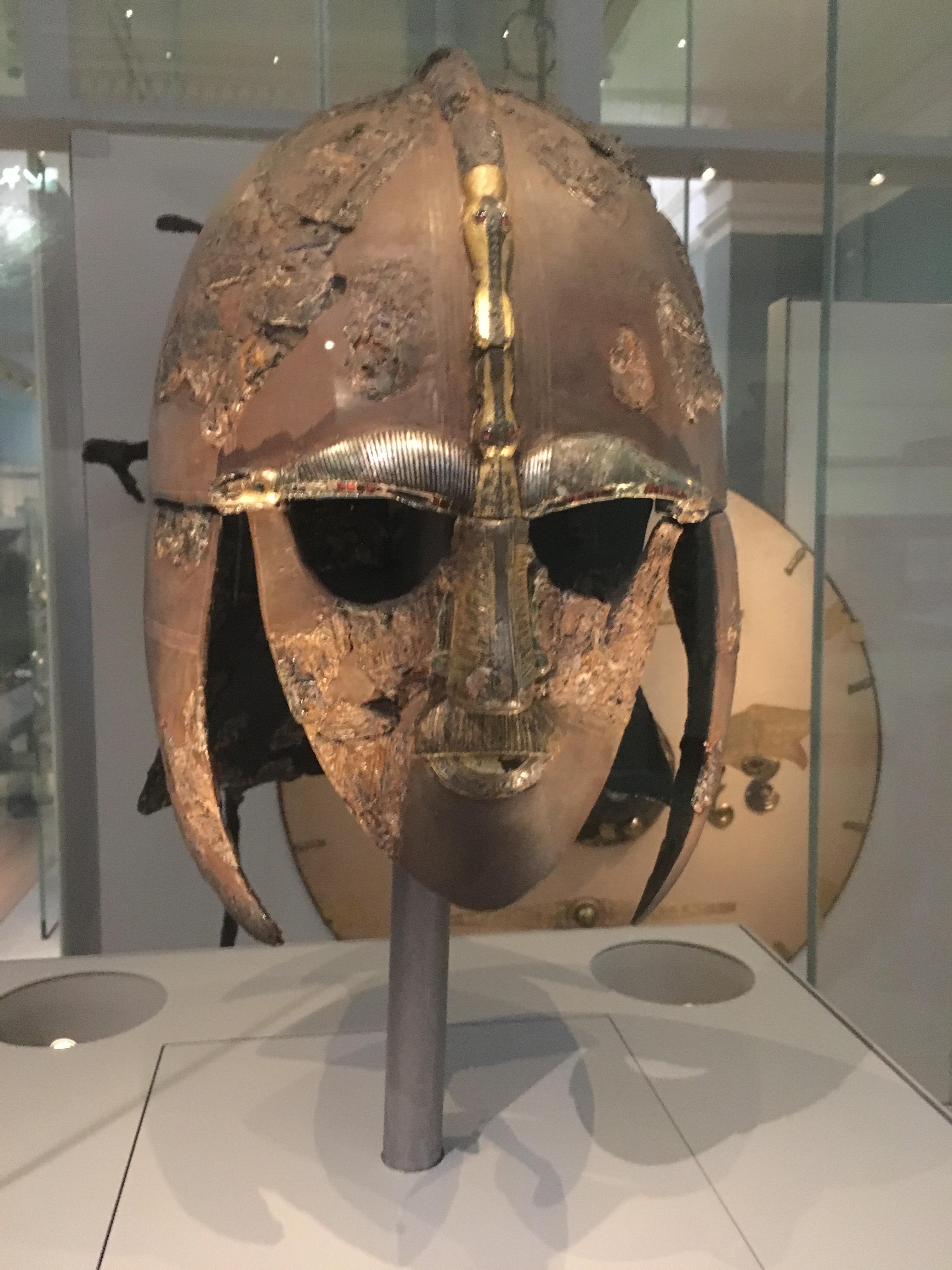 Sutton Hoo Anglo-Saxon helmet
