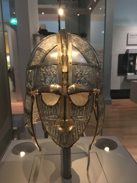 The Sutton Hoo helmet as it would have appreared